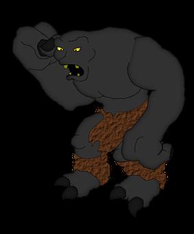 Troll, Monster, Fantasy, Goblin, Character, Ogre
