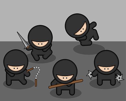 Ninjas, Fighters, Fighter, Japanese, Warrior, Martial