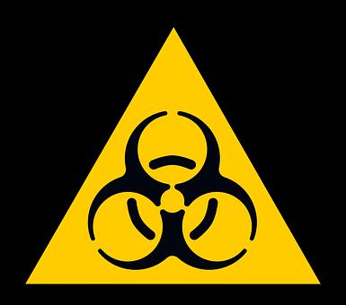 Biohazard, Sign, Alert, Symbol, Dangerous, Biological