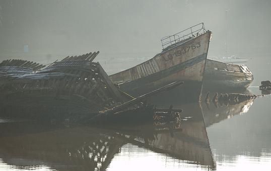 Boat, Wreck, Stranding, Failed Boat, Heritage, Failed