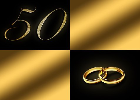 Golden Weddings, 50 Years, 50 Years Anniversary