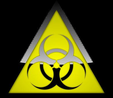 Biohazard, Warning, Symbol, Danger, Hazard, Sign