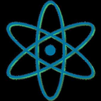 Atomic Symbol, Atomic, Symbol, Atom, Icon, Energy