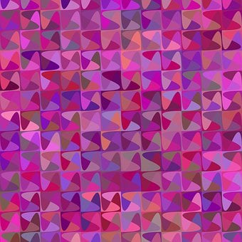 Puzzle Background, Color, Curved, Background, Geometric