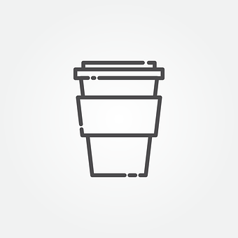 Coffee, Icon, Drink, Cafe, Symbol, Cup, Sign, Design