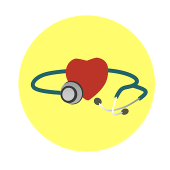 Heart, Stethoscope, Health, Illness, Examine