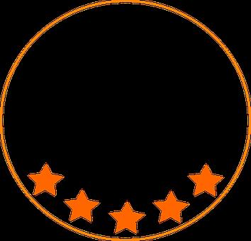 Stars, Five Stars, Logo, Icon, Symbol, Five, Rating