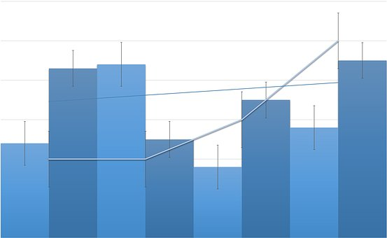 Chart, Graph, Analytics, Cubes, Bars, Growth, Loss