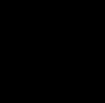 Reindeer, Head, Black And White, Horns, Animal, Mammal