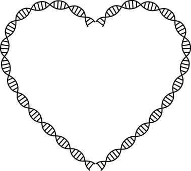 Dna, Deoxyribonucleic Acid, Heart, Health, Molecules
