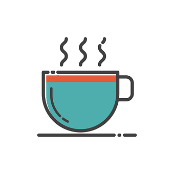 Cup, Icon, Glass, Symbol, Design, Flat, Drink, Sign