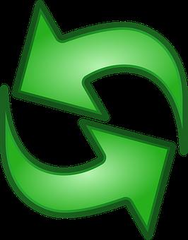 Arrow, Button, Refresh, Green, Reload, Internet, Symbol