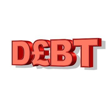 Debt, Money, Pound, Finance, Financial, Business, Cash