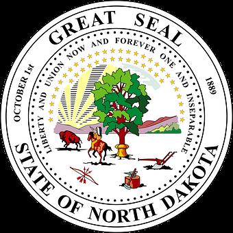 Seal, North Dakota, Symbol, Region, Insignia, Icon