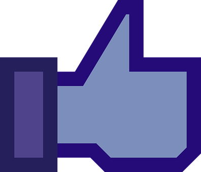 Facebook, Blue, Button, Like, Thumb, Okay, Yes, Confirm