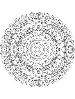 Mandala, Drawing, Artist, Art, Pattern, Floral