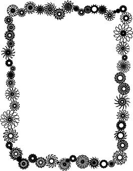 Border, Decoration, Flower, Frame, Mandala