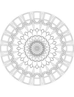 Mandala, Coloring Page, Coloring Book