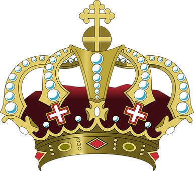 Crown, Cross, Palace, Royal, King, Queen, Prince