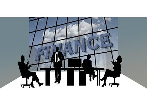 Finance, Economy, Collegiate, Silhouettes, Office, Desk