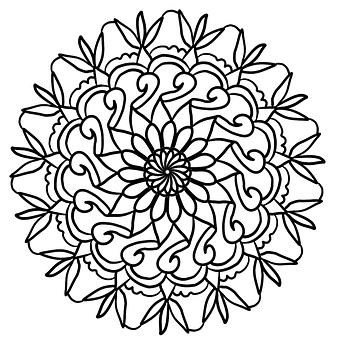 Mandala, Mandalas, Design, Flower, Floral, Indian
