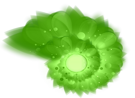 Effect, Network Mill, Green, Shapes, Circles