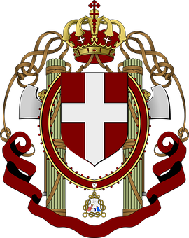 Crest, Crown, Church, Gentry, Power, Coloms, Banner