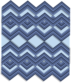 Textile, Texture, Fabric, Zigzag, Blue, Shades, Shapes