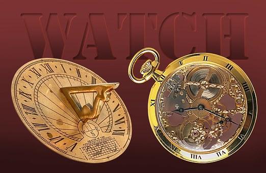 Clock, Solar Watches, Mechanics, Pocket Watch, Time
