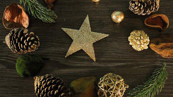 Christmas, Star, The Arrival Of The, Time, Background