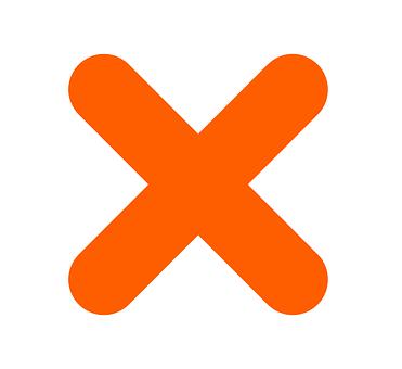 Cross, No, X, Forbidden, Closed, Symbol, Sign, Icon