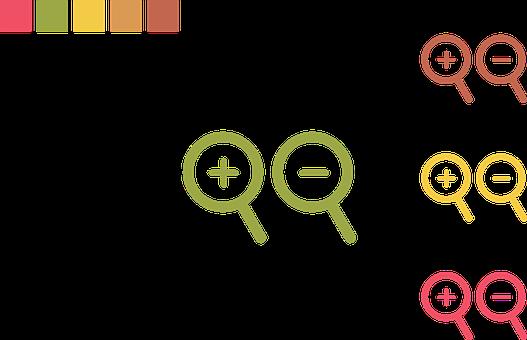 Icon, Zoom, Flat, Design, Web, Symbol, Sign, Search