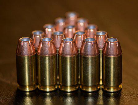 Bullets, Ammo, Ammunition, Brass, Cartridges, Caliber