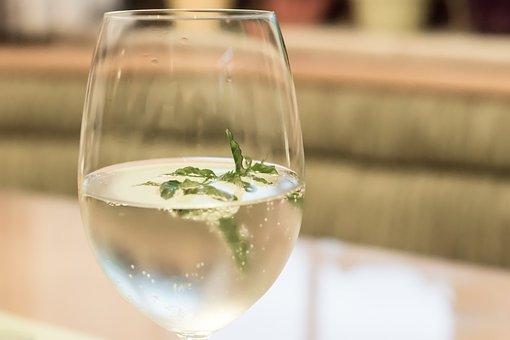 Hugo, Drink, Aperol Spritz, Herb, Fruity, Glass