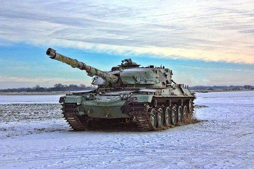 Tank, War, Battlefield, Army, Shells, Armour, Battle