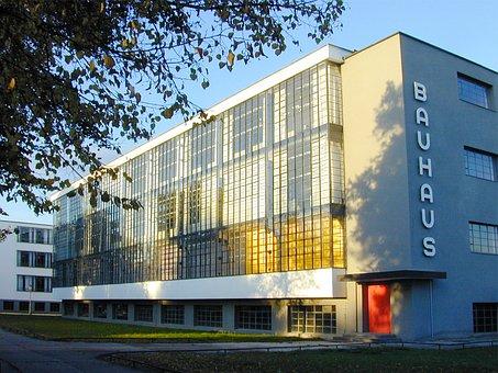 Bauhaus, Bauhaus Building, Dessau, Gropius, Glass Front