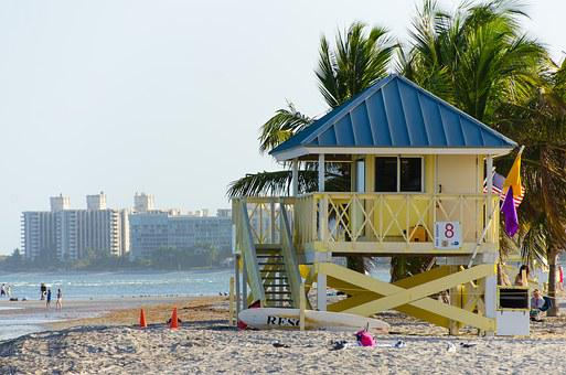 Beach, Miami, Crandon Park Beach, Key Biscayne, Summer