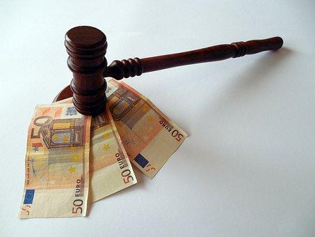 Hammer, Money, Euro, Currency, Dollar Bill, Bills