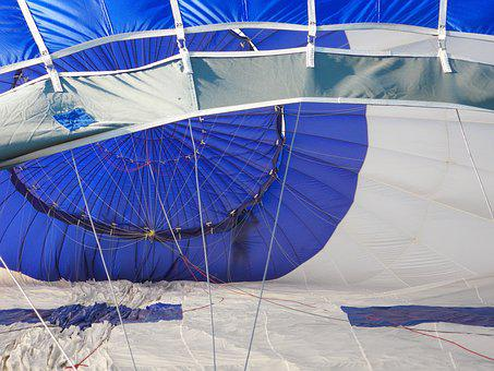 Sailing, Hot-air Ballooning, Blue, White, Chart