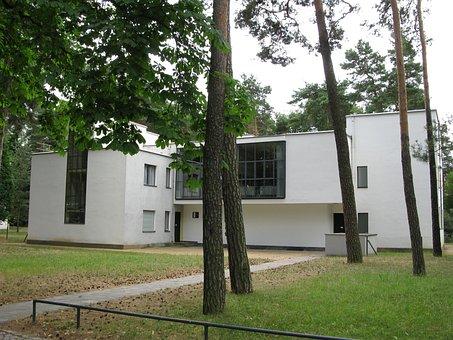Architecture, Bauhaus, Dessau, House, Gropius, Building