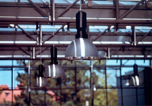 Bauhaus, Architecture, Dessau, Building, Modern, Lamps