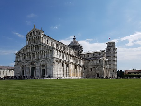 Pisa, Leaning Tower, Dom, Campo Santo, Cemetery
