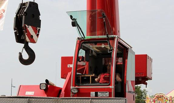 Crane, Hook, Load Crane, Cargo Transport, Hoist Rope