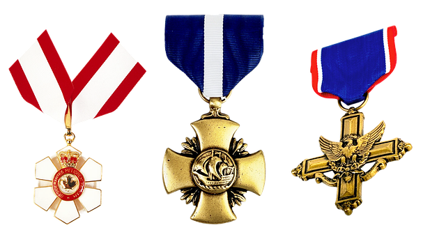 Medal, Order, Honors, Cross, Eagle, Crown, Royal