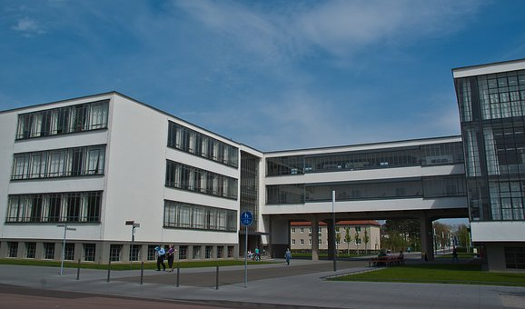University, Dessau, Uni, Building, Architecture