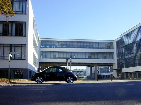 Bauhaus, Bauhaus Building, Dessau, Gropius, Modern
