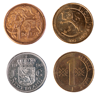 Australian Dollar, Finnish Mark, Dutch Guilder, Guilder