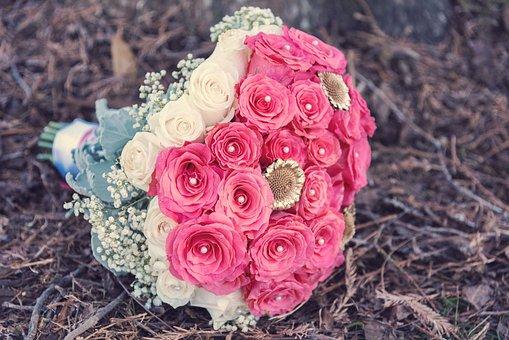 Flower, Wedding, Rose, Wedding Flowers, Bouquet, Love
