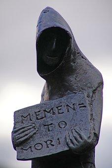 Friar, Statue, Bronze, Prior, Chartreuse, Chartreux
