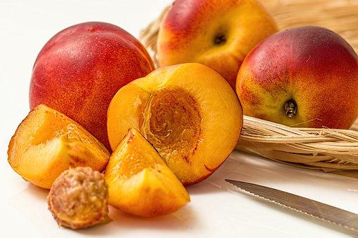 Nectarine, Peach, Fruit, Deciduous, Juicy, Sweet